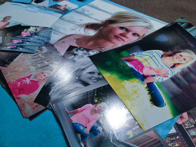 gift prints from trendy Duluth Senior session